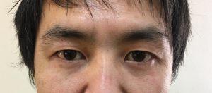 メンズ 眉毛 整える前